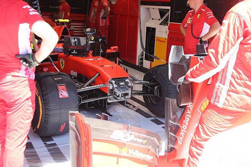 Revealed: How Ferrari is seeking extra downforce in Austria
