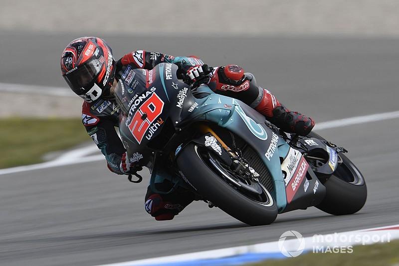 MotoGP: Quartararo lidera dois treinos antes da classificação na Holanda