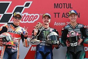 MotoGP Assen: Vinales, Yamaha'ya 2019'daki ilk zaferini getirdi