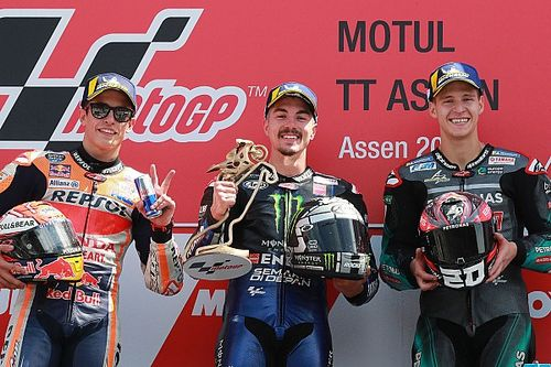 Assen MotoGP: Vinales beats Marquez, Quartararo for first win of 2019