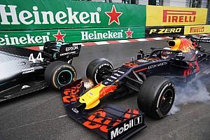 Photos - Les incroyables clichés du duel Hamilton/Verstappen