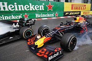 Fotos: la increíble secuencia del duelo Hamilton vs Verstappen