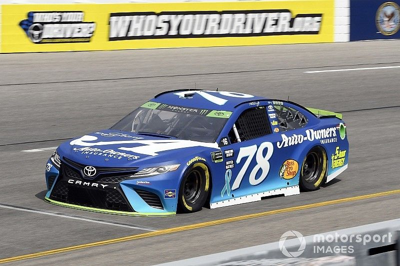 Martin Truex Jr. leads every green-flag lap in Stage 2 victory