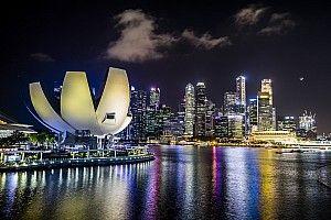 GALERI: Suasana persiapan GP Singapura