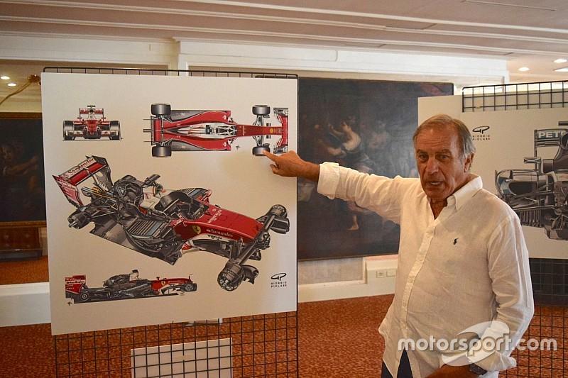 50 anni di F1 in mostra: un successo i disegni di Giorgio Piola esposti a Rapallo