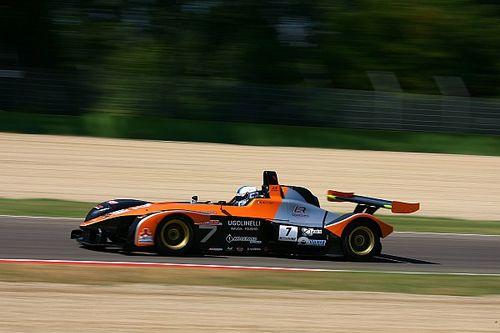 Pole position da urlo per Simone Riccitelli nel quarto round stagionale di Imola