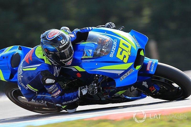 """Guintoli dans la douleur à Brno: """"Je savais que ça allait être difficile"""""""