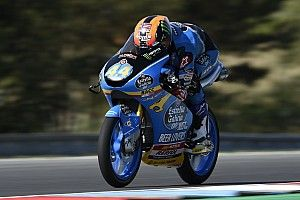Moto3 Brno: Canet toonaangevend in slotfase warm-up