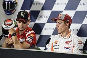 """""""Siapa bisa kalahkan Marquez? Dia adalah Lorenzo"""""""