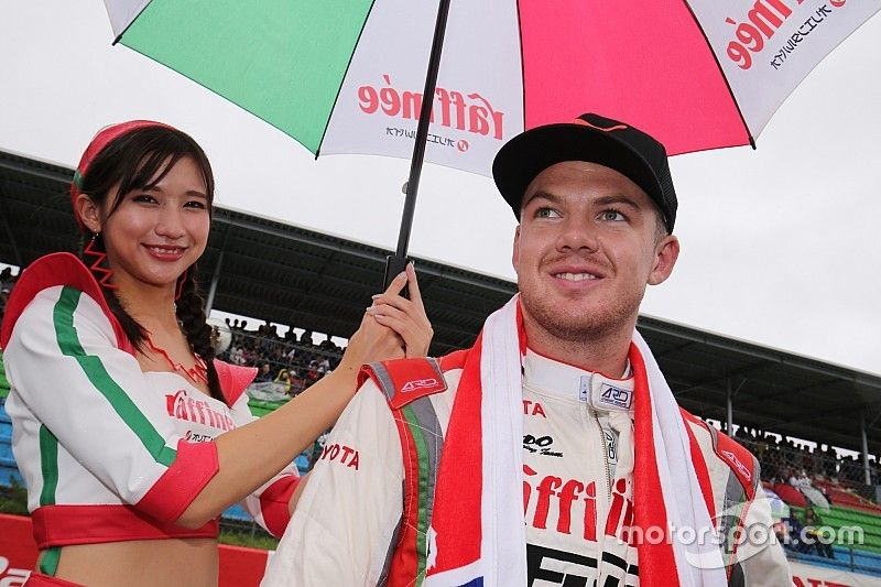 Cassidy to test for TOM'S in Super Formula test