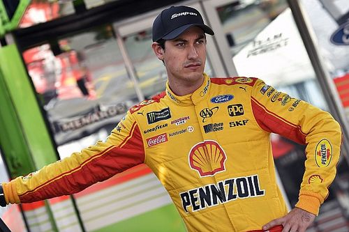 Joey Logano leads first Cup practice from Las Vegas