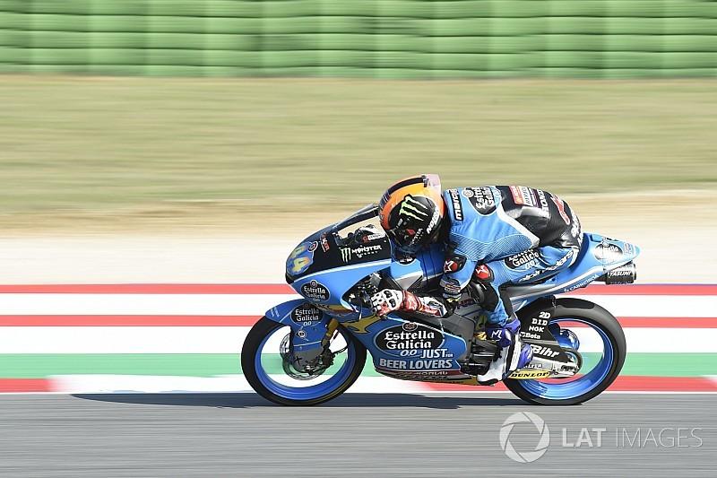 Moto3 Misano: Canet voor Bezzecchi in warm-up