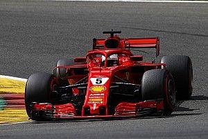 Belçika'da günün pilotu Vettel oldu!