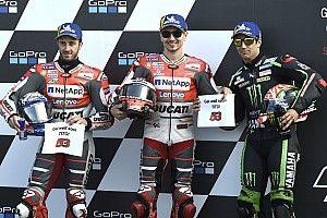 Parrilla de salida del GP británico de MotoGP