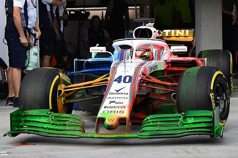 Teams mogen nieuwe voorvleugel niet gebruiken tijdens Abu Dhabi-test