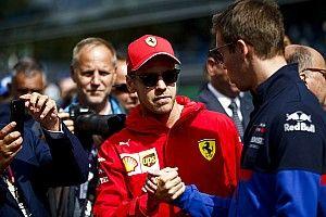 Vettel: A pályán csak magadért küzdesz
