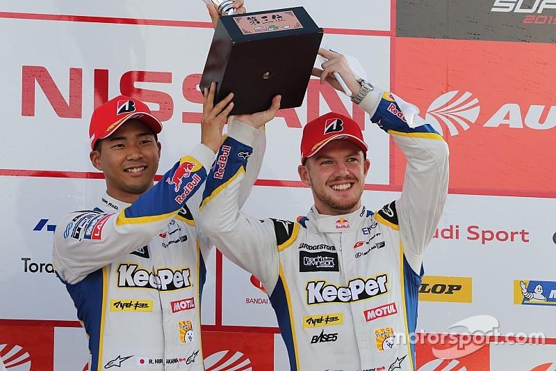 スリックで粘り強く追い上げ3位獲得、平川亮「6号車との差を縮められて良かった」