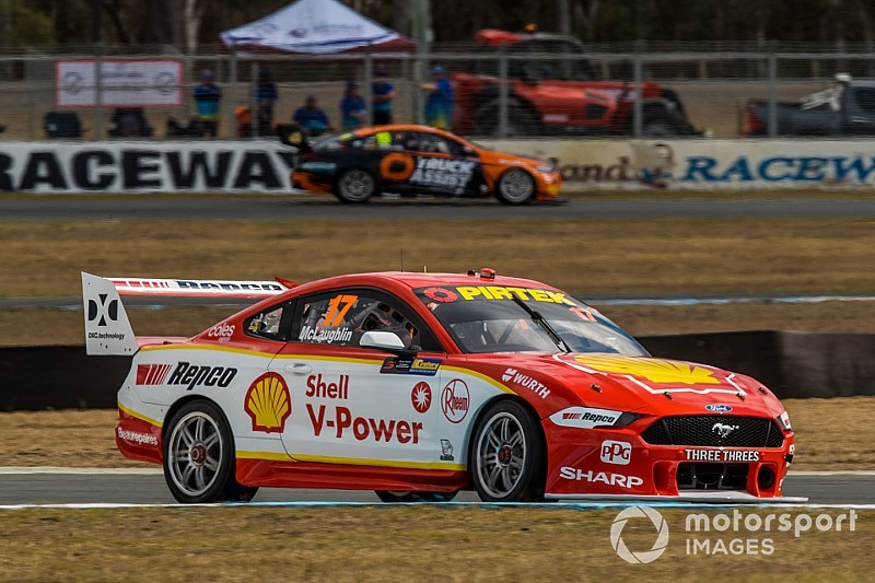Ipswich Supercars: McLaughlin takes 13th season pole