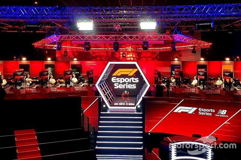 F1-teams kiezen line-up in Esports Pro Draft