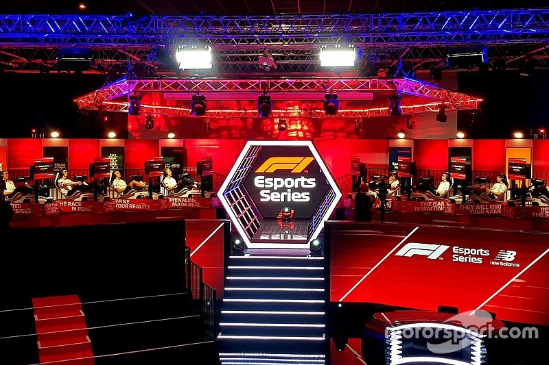 F1-teams kiezen line-up in Esports Pro Draft