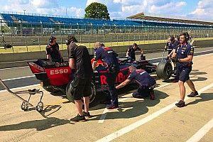 Test Pirelli: a Silverstone hanno girato Red Bull e Williams