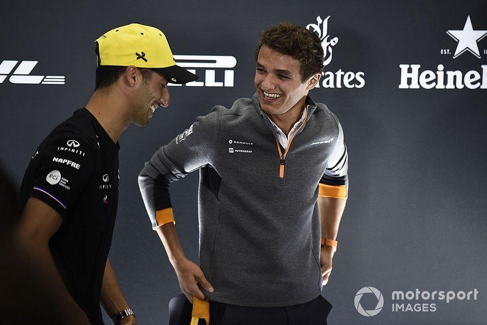 """Brown: """"Ricciardo-Norris'ten daha heyecan verici bir sürücü kadrosu olduğunu sanmıyorum"""""""