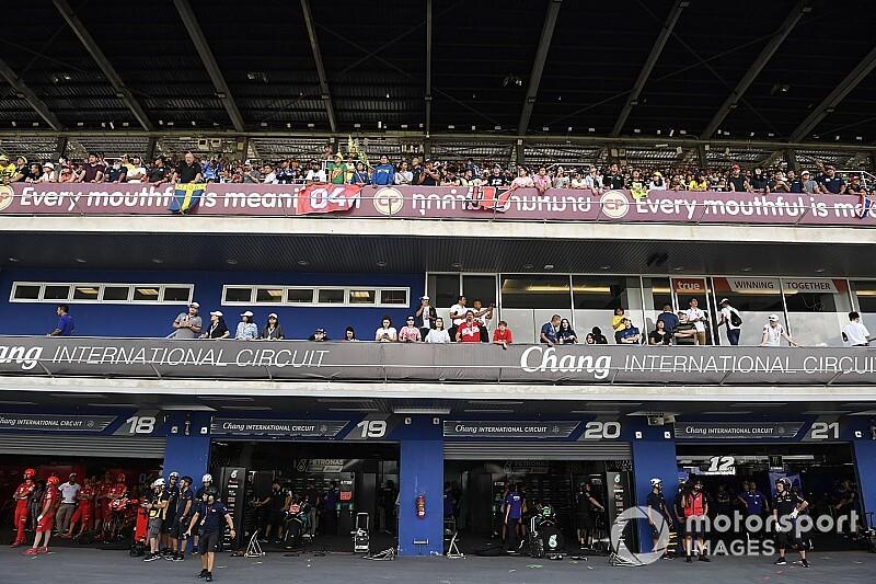 El ministro de sanidad tailandés confirma la suspensión del GP en Buriram