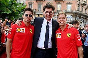 """ベッテルは""""No.2ドライバー""""じゃない! フェラーリ元CEOが擁護"""