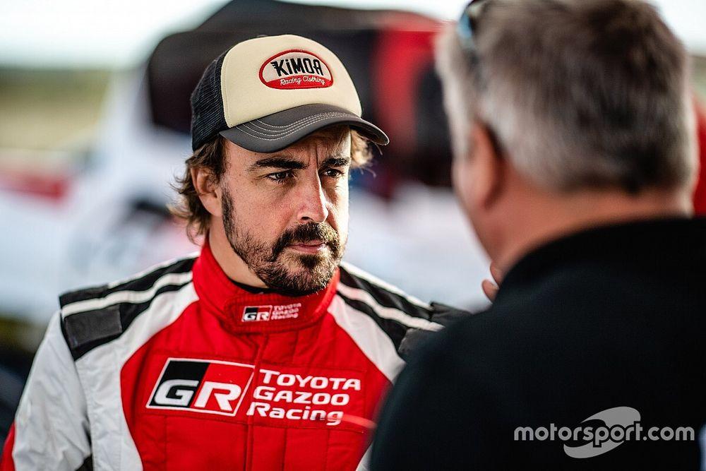 Alonso poursuit sa préparation pour le Dakar 2020 en Pologne