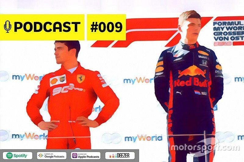 Podcast #009 - Leclerc campeão da F1 antes de Verstappen?