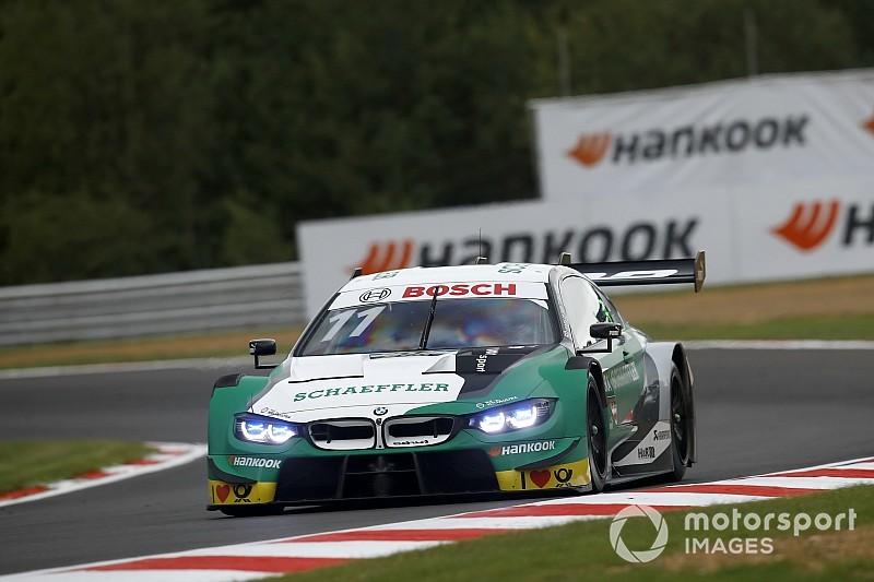 DTM Brands Hatch: Wittmann wint eerste race, Frijns vierde