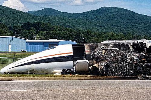 Названа причина аварии самолета экс-пилота NASCAR