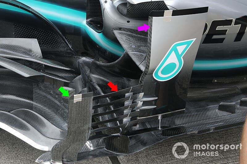 First look: Mercedes' Japanese GP upgrades