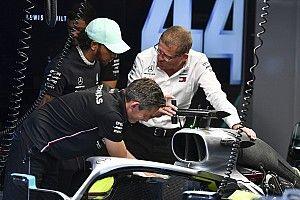 Mercedes stoomt wagen Hamilton klaar voor kwalificatie na crash