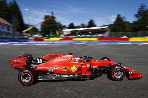 比利时大奖赛FP2:法拉利继续高居前二,莱科勒克最快