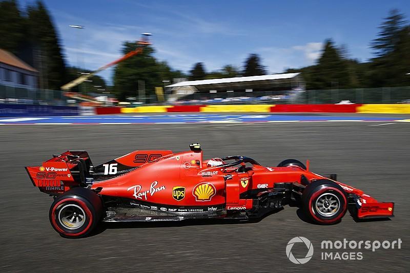 Leclerc toma el relevo en la FP2 y Ferrari asusta