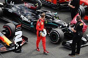 """Vettel: """"Algo no encaja"""""""