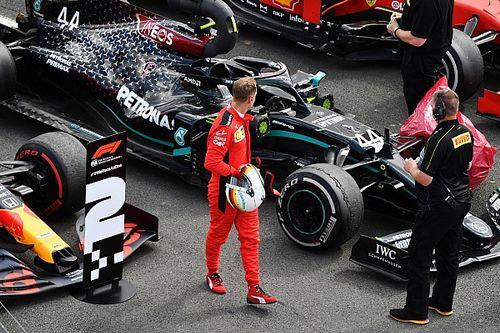 """Vettel lamenta falta de performance do carro durante corrida: """"Eu não tive chance de melhorar"""""""