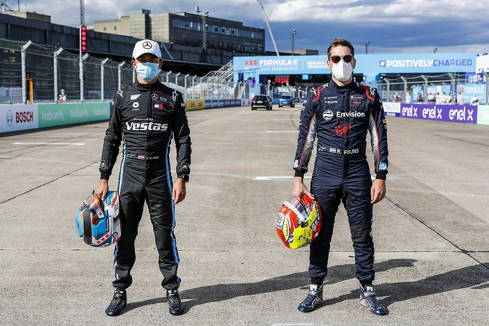 Seizoensfinale Formule E in Berlijn op twee verschillende lay-outs