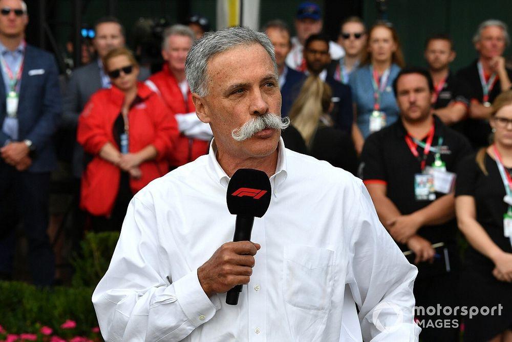"""CEO da F1 fala sobre calendário """"mais próximo do normal"""" em 2021"""