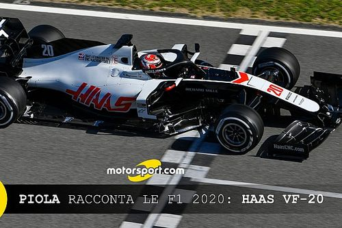 Piola racconta le Formula 1 2020: Haas VF-20