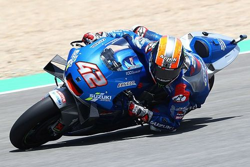 Shoulder fracture puts Rins in doubt for Jerez MotoGP race