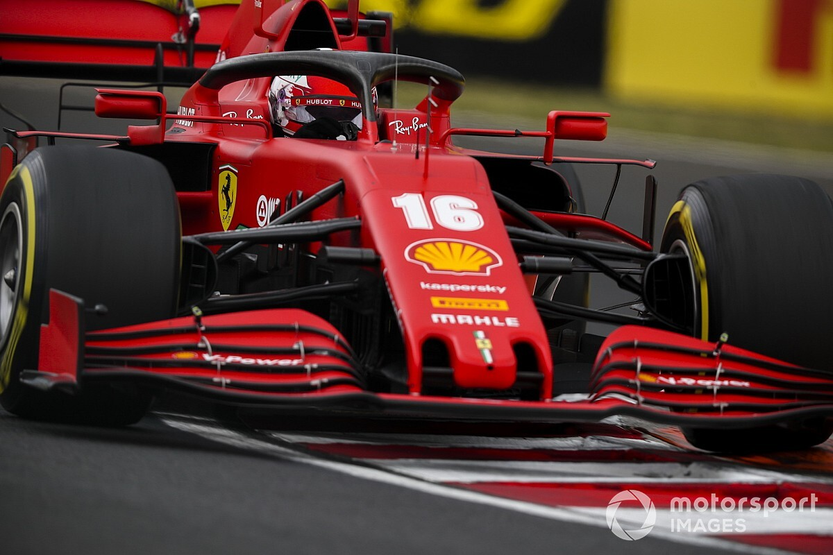 "Leclerc seeing ""positive signs"" from Ferrari after practice"
