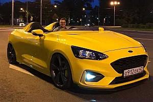 Kinek jutna eszéből Speedstert csinálni egy Ford Focusból?