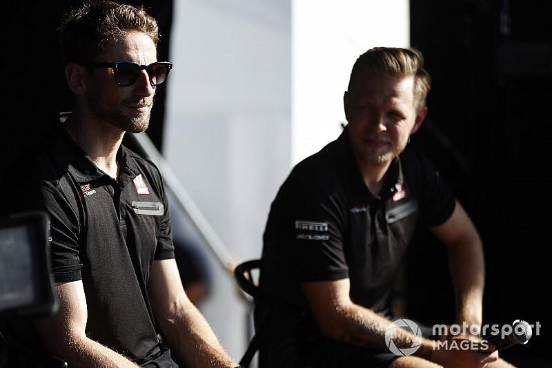 """Magnussen: """"Grosjean'la düşman değiliz"""""""