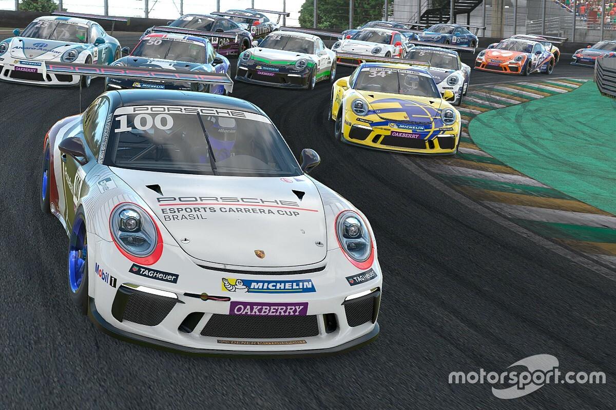 Veja como foi a primeira etapa da Porsche Esports Carrera Cup em Interlagos