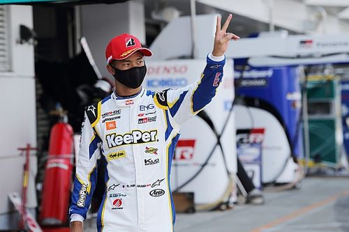 SGT開幕戦ポールを獲得した平川亮「喜ぶ暇もなく決勝が始まるので集中していく」