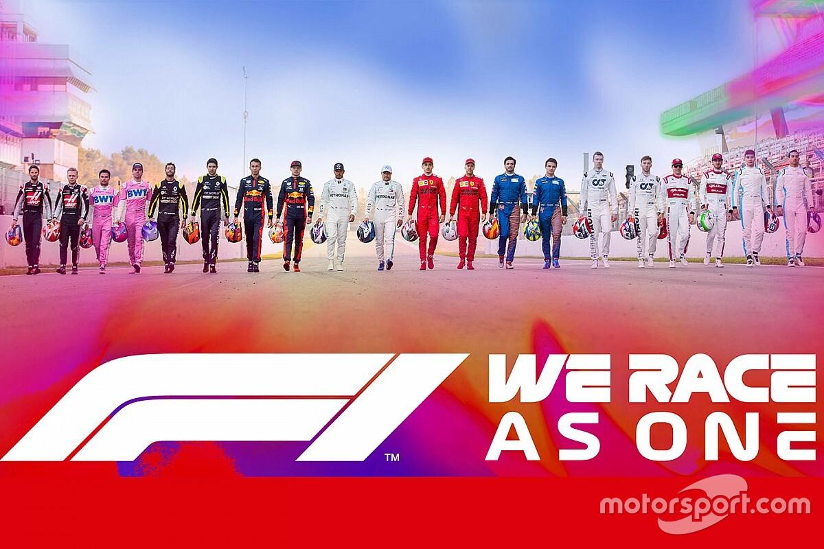 F1发起倡议行动,感谢全球抗疫努力并推动多元化