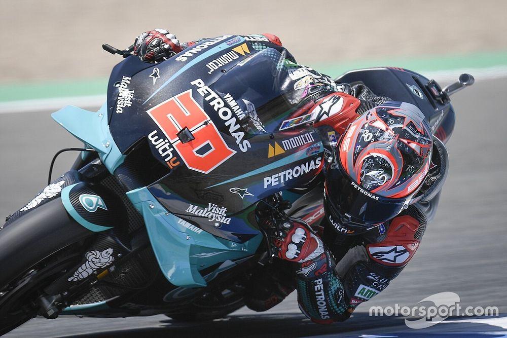 Quartararo a drámával fűszerezett Andalúz Nagydíjon is nyert, Rossi 2 körrel a vége előtt vesztett pozíciót!