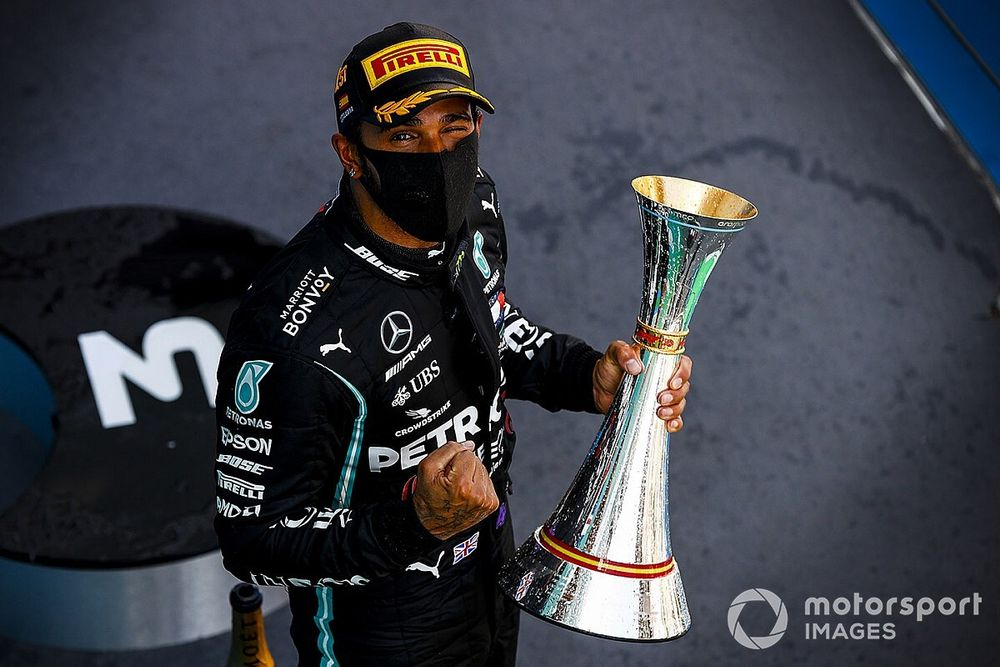 Spanish GP: Hamilton takes commanding win from Verstappen